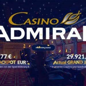 Admiral Casino CZ Vorschau