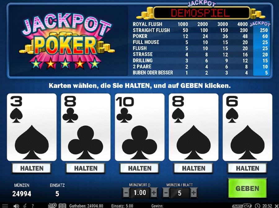 Jackpot Poker Vorschau