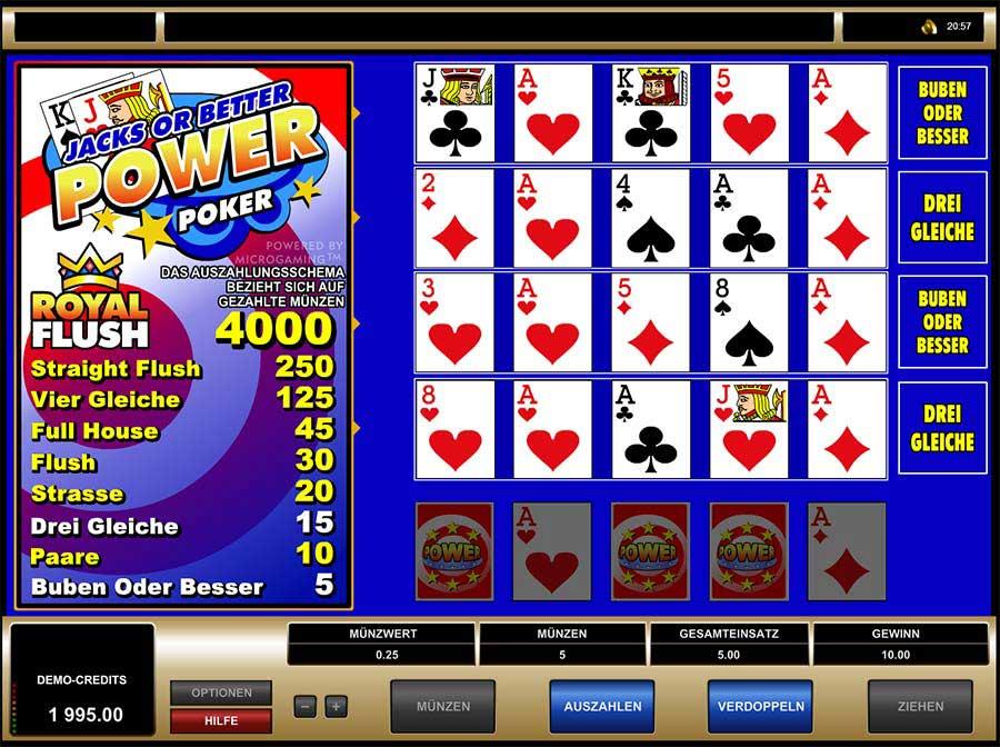 Jacks Of Better Poker Vorschau
