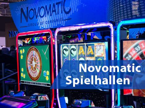 Novomatic Spielhallen