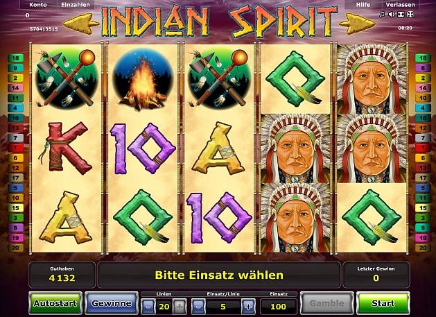 casino spiele online indian spirit