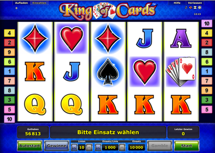 casino online spiele king of cards