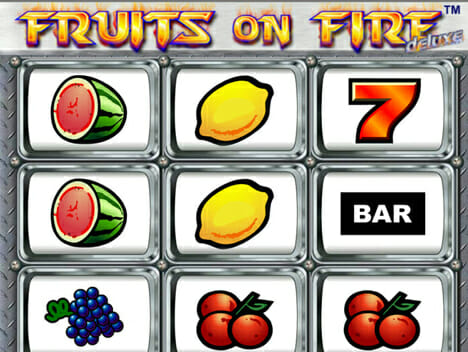Fruits On Fire Logo