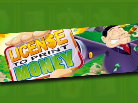 License To Print Money Logo