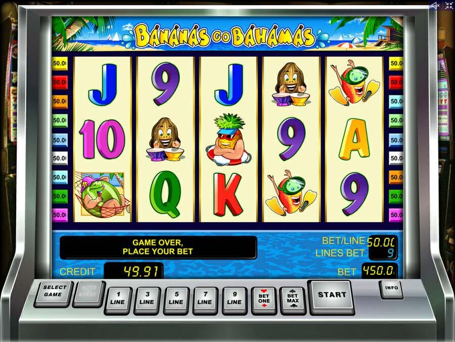 Novoline Bananas Go Bahamas Online Slot