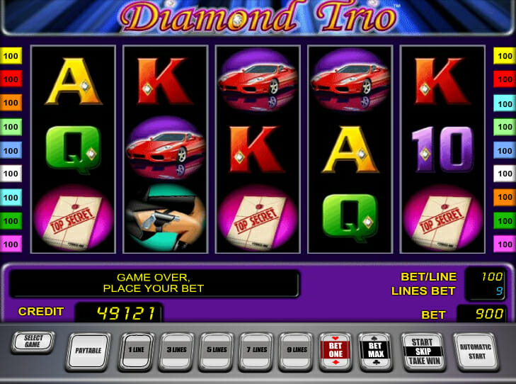 Novoline-diamond-trio-spielautomat
