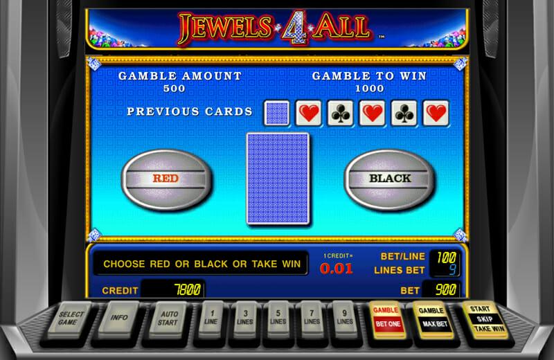 Novoline-jewels-4-all-risiko