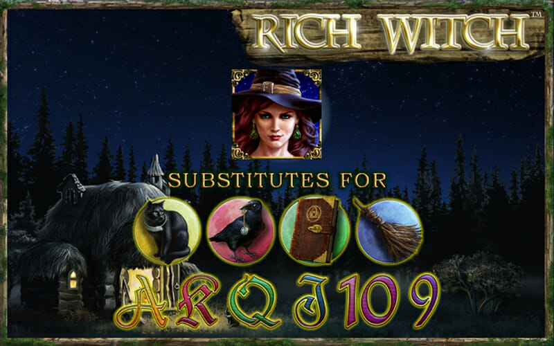 online casino rich witch