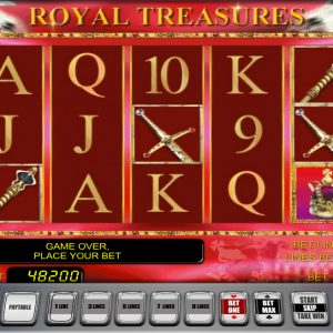 Novoline-royal-treasures-automatenspiel
