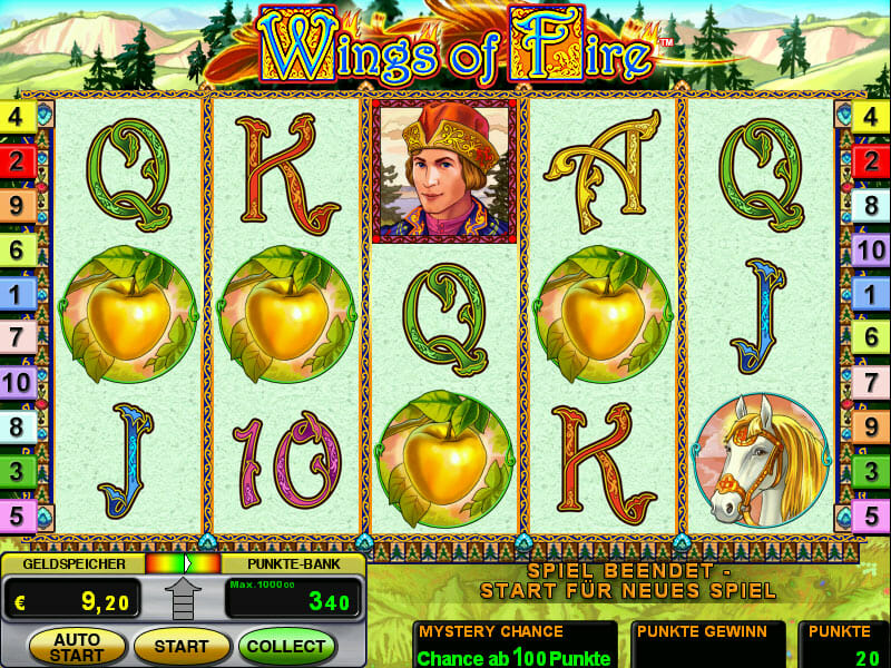 wings of fire novoline online spielen