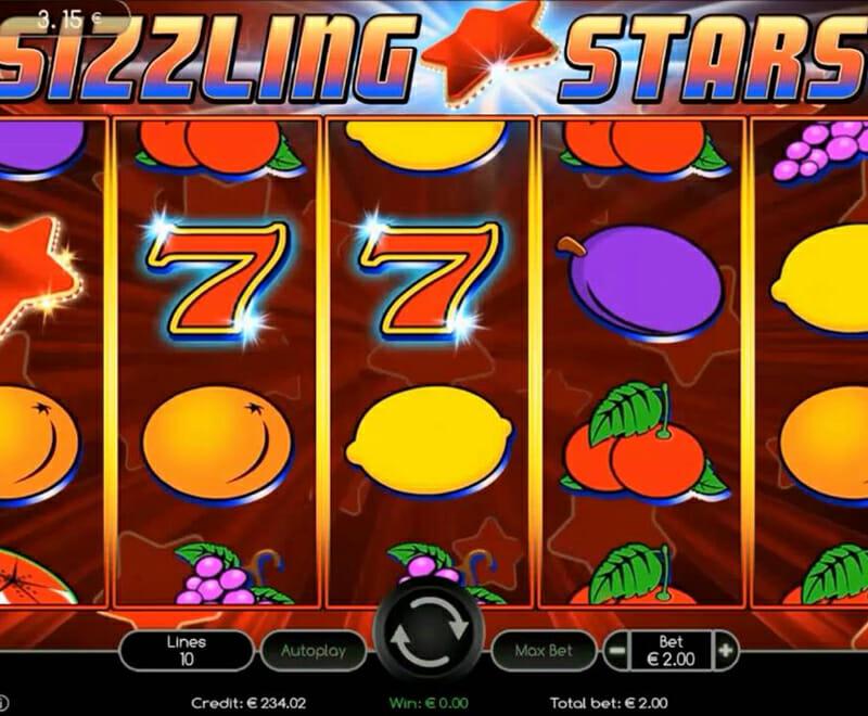 Novoline Sizzling Stars Spielautomat