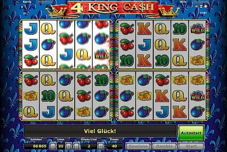 4 King Cash Spielen