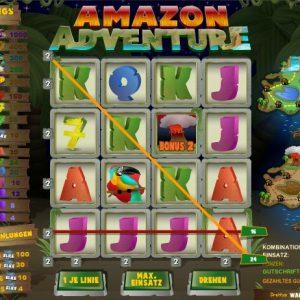 Amazon Adventure Gewinn