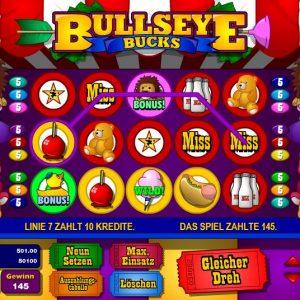 Bullseye Bucks Gewinn