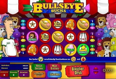 Bullseye Bucks Online Spielen