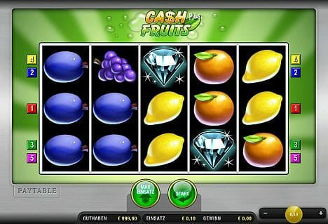 Cash Fruits Plus Spielen