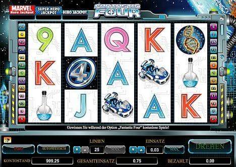 Fantastic Four Online Spielen