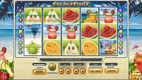Freaky Fruits Online Spielen