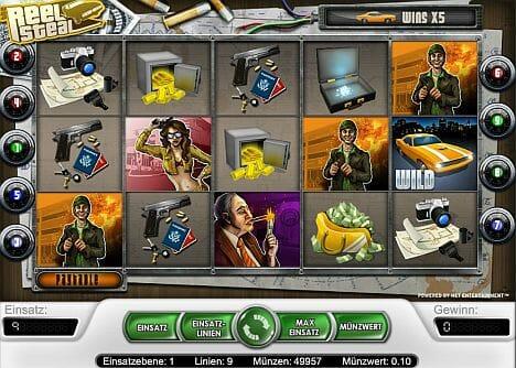 Reel Steal Online Spielen