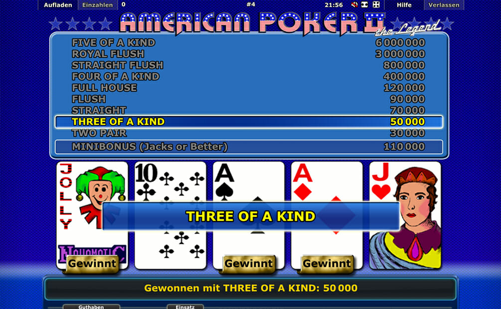 American Poker Vorschau