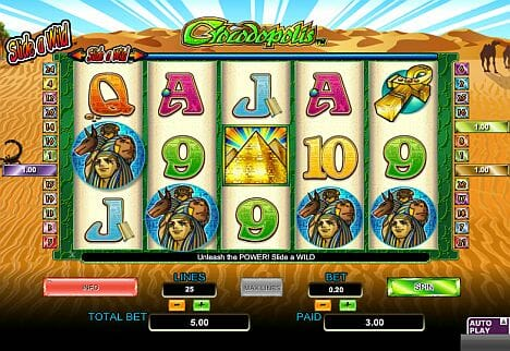 Crocodopolis Slot