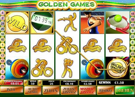 Golden Games Spielen