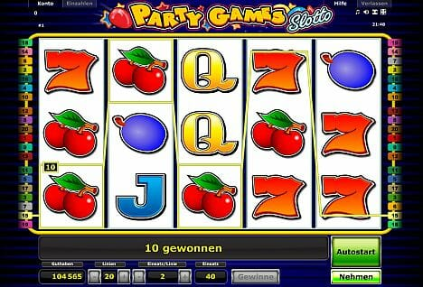 Party Games Slotto Online Spielen