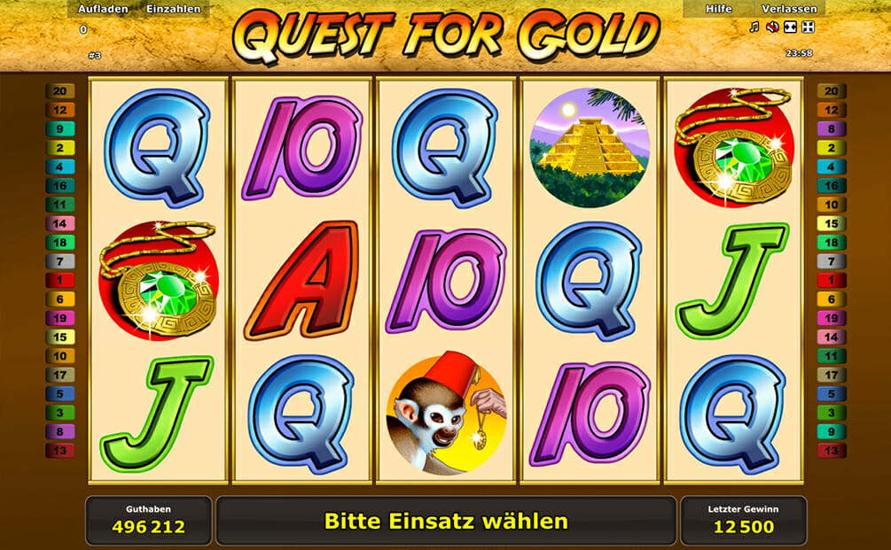 Quest for Gold Vorschau