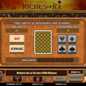 Riches Of Ra Risiko