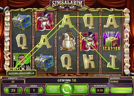 Simsalabim slots - spil Simsalabim slots gratis ingen download