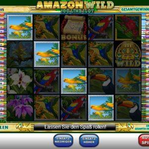 Amazon Wild Gewinn
