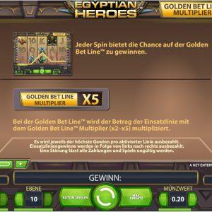 Egyptian Heroes Bonus