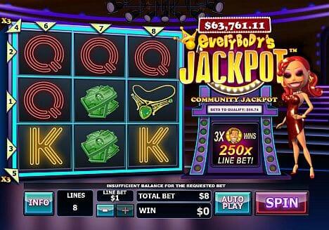 Everybodys Jackpot Echtgeldspiel