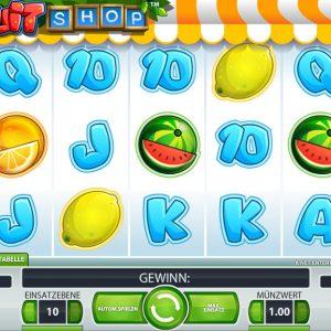 Fruit Shop Spielautomat