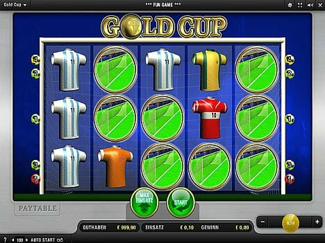 Merkur Gold Cup Spielen