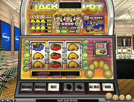 Jackpot 6000 Spielen