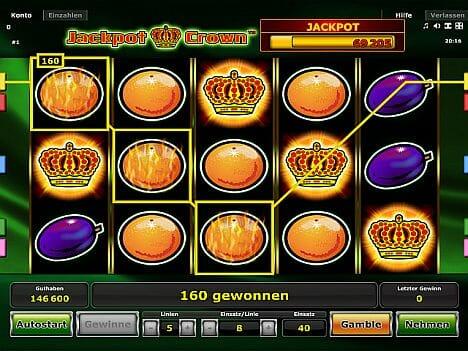 Jackpot Crown Novoline