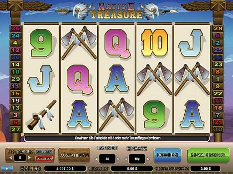 Native Treasure Spielautomat
