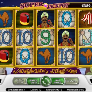 Arabian Nights Spielautomat