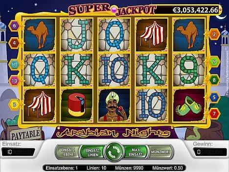 Arabian Nights Spielautomat