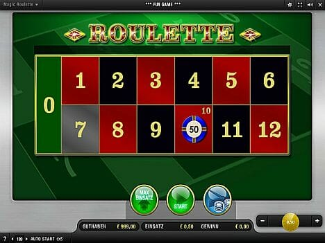 Magic Roulette Merkur