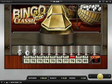 Merkur Bingo Classic