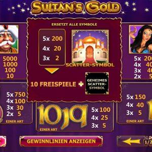 Playtech-sultans-gold-gewinne