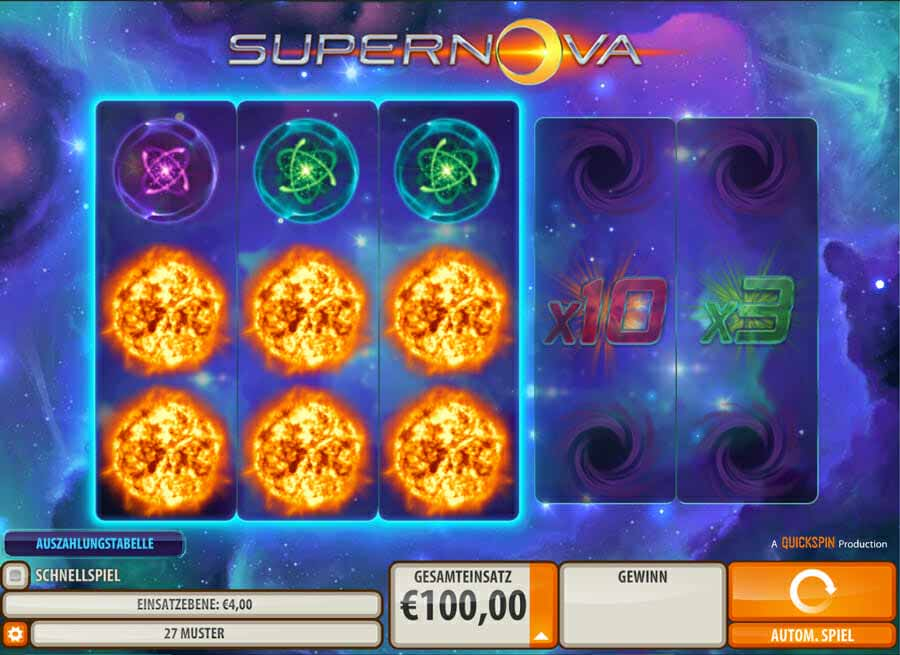 Quickspin Supernova Online Slot