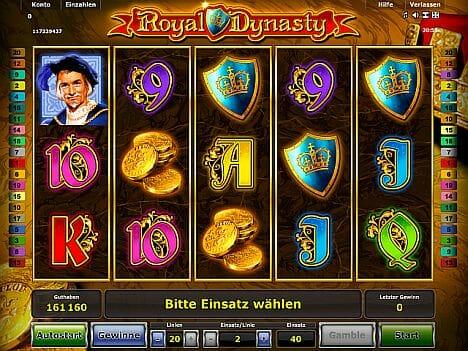 Royal Dynasty Novoline Spiel