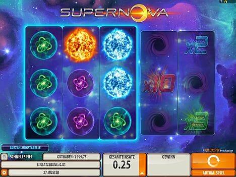 Supernova Spielautomat