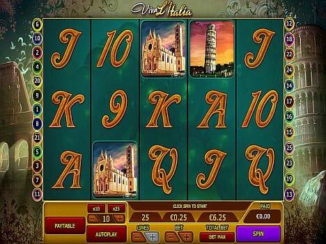 Viva L'Italia Slot Im 888 Casino