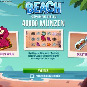 Beach Funktionen