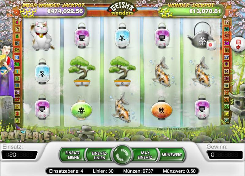 Geisha Wonders Slot - Spela Geisha Wonders Gratis Online