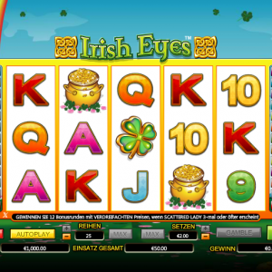 Irisheyes Gewinn